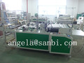Side sealing hot cutting bag making machine for PP bag