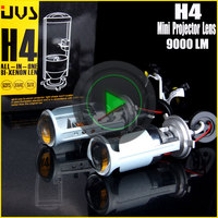 12V 35W H4 H/L Telescopic HID Bi-Xenon Lamp with projector lens