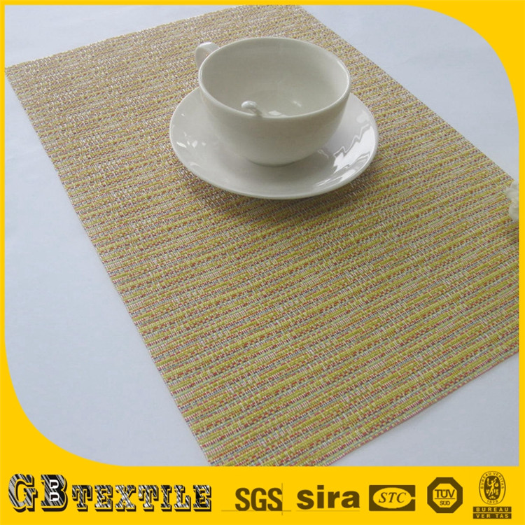Clear rattan straw table placemats wholesale