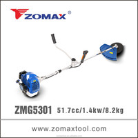 nylon trimmers 52cc ZMG5301 diesel brush cutter for heavy duty grass cutter