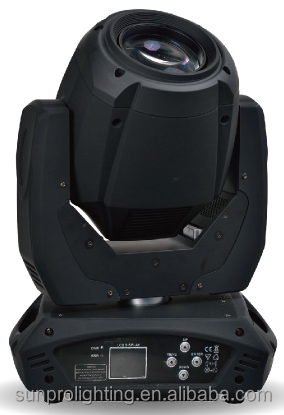 Double prism 230w 7r beam professional moving head stage lights