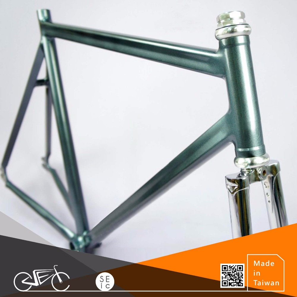 "New design 1"" thread Aluminum fixed/road bike frame"