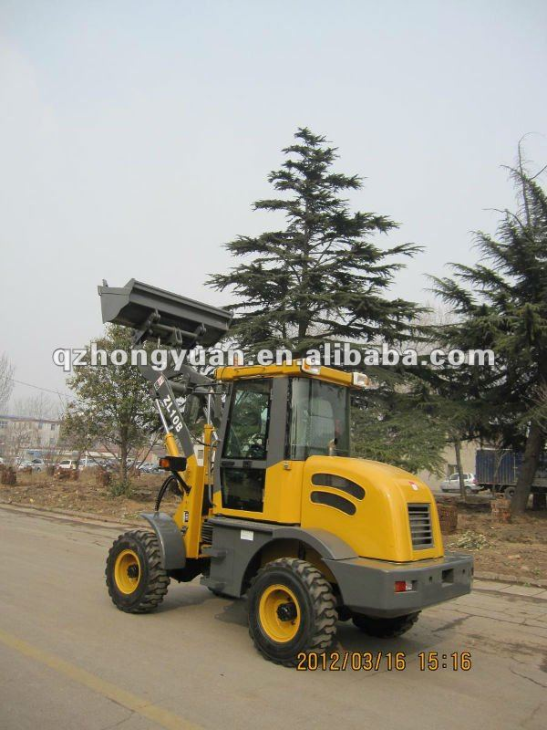 2012 new style 1 ton mini wheel loader with gearbox.CE aprroved./2 ton wheel loader