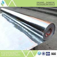Weight 50-350gsm aluminum thermal reflective foil insulation