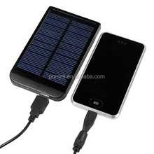 Mobile Accessories Portable Charger 5000 Mah Solar Power Bank Waterproof