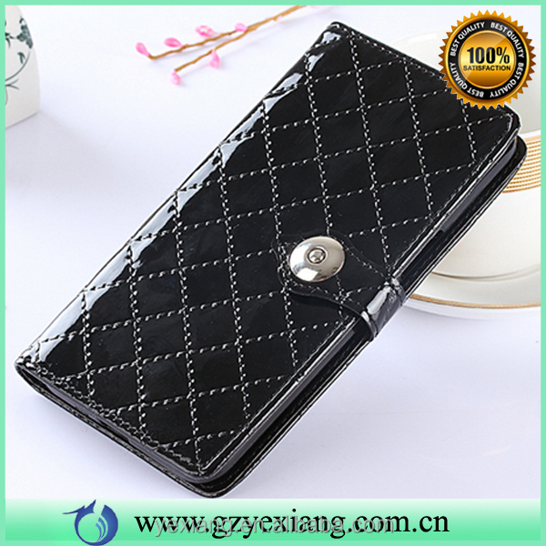 Mobile accessories wallet flip cover for Samsung galaxy note 2 pu leather stand case with card holders