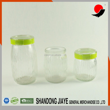 glass storage jar with Swing Top Food Grade Glass Candy Jars large glass ja