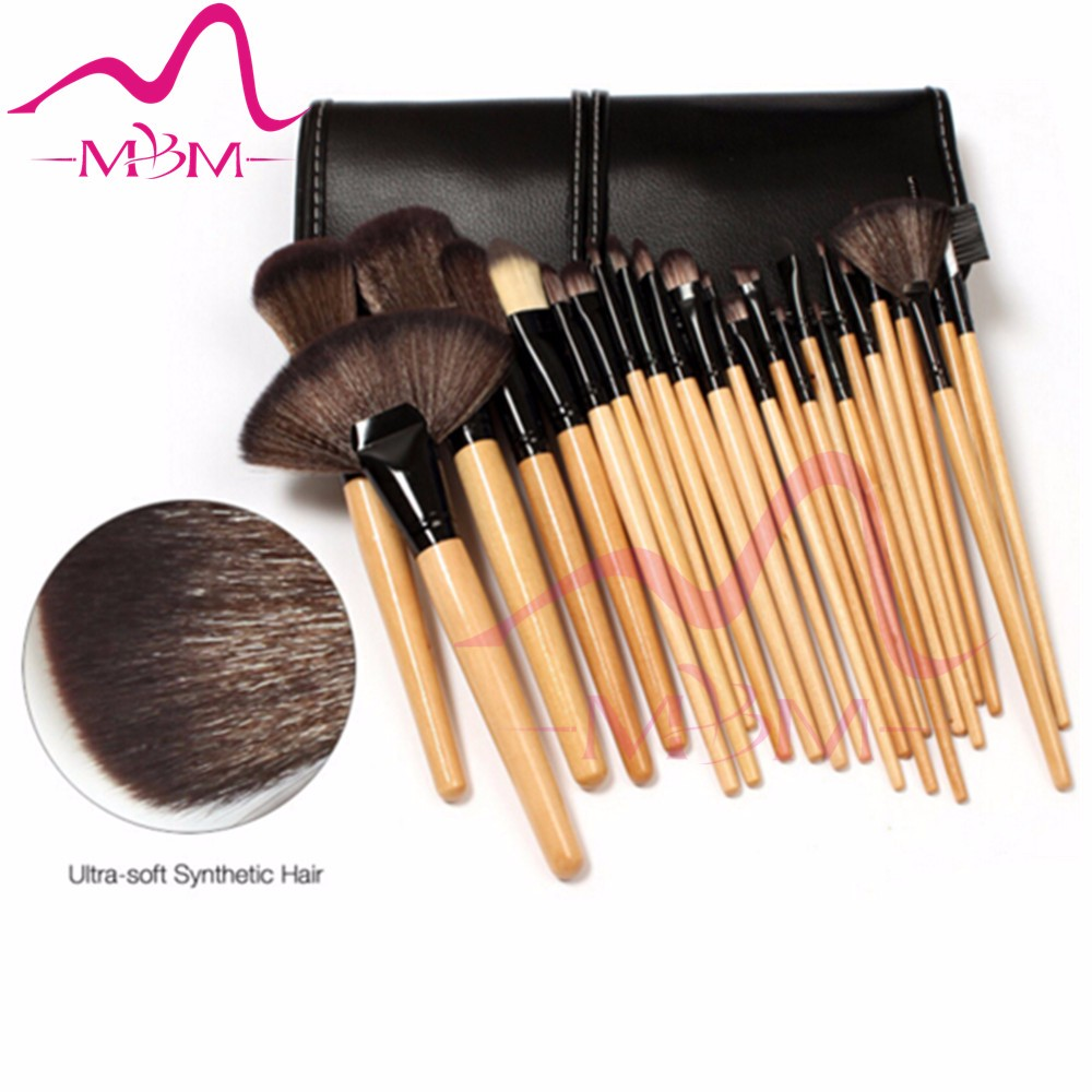 Eyeliner Lip Facial Makeup Oval Brushes for beauty girl