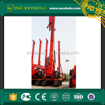 127t SANY C10 Series 365kN.m Rotary Drilling Rig SR365RC10