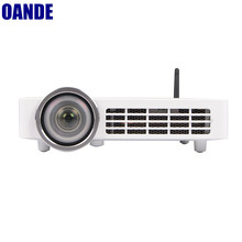 Shenzhen DLP projector with TV tuner 1280*800P full hd lowest price mini led cheap projector