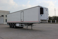 40Ton 3 Axles Refrigerator Cargo Semi-Trailer Truck For Sale