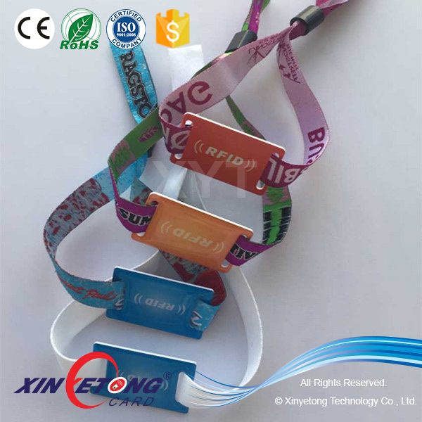 Type 2 144byte Ntag213 Fabric NFC Wristband