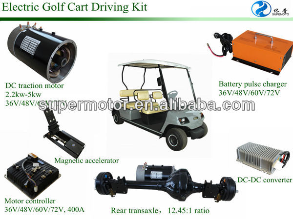high quality driving kit for electric golf cart