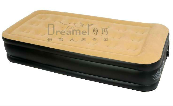 Comfortable European size air mattress with for hotel mattress
