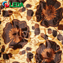 Best price cover ring floor mat sofa fabric polyester african textiles velvet printed