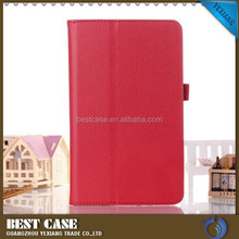 China supplier leather cover case for samsung galaxy tab4 7.0 t230/ t231