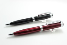 2015 Valin Pen Industry Black / Claret Thick Heavy Metal Ball Pen with Factory Price