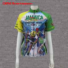 Custom sublimation cycling jersey cycling shirt cycling wear