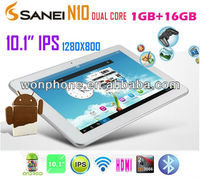 Android 4.1 10.1 inch Sanei N10 RK3066 Dual Core 1.6GHz Tablet PC