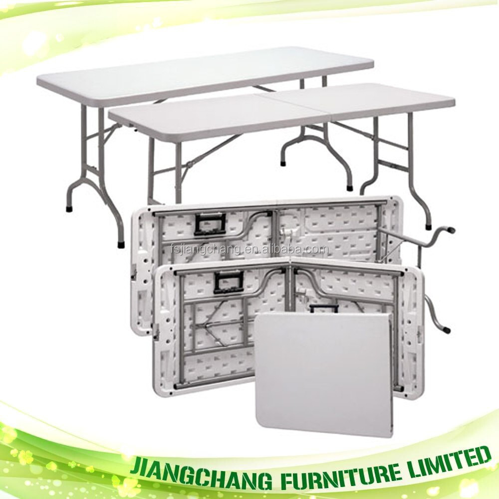 Low Price Portable Exhibition Plastic Folding Table