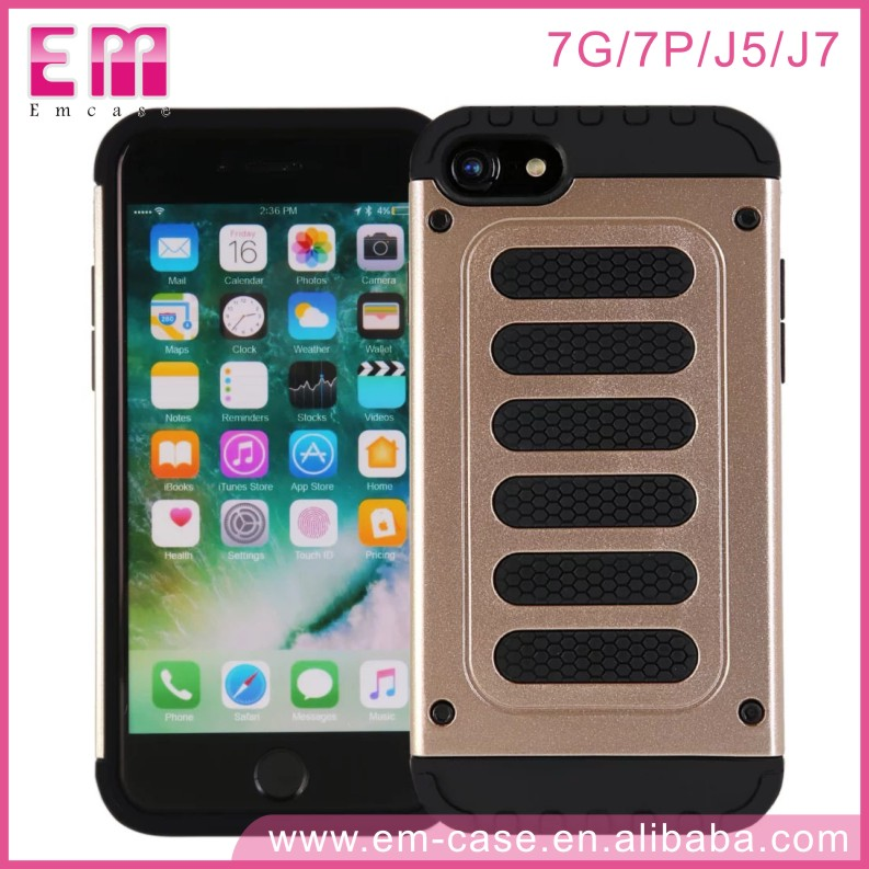 High Quality Heavy Duty 2IN1 Shockproof Armor case for iPhone 7 7 Plus
