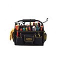 Electrician open tote mouth tool bag waterproof best open tool bag