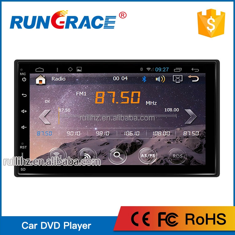 Double din 6.2-Inch In-Dash Touchscreen Car stereo DVD player GPS navigation LCD Monitor support SD/AM-FM