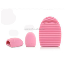 Hot Sale Cosmetic Brush Cleanser Egg Cleaning Brush Silicone Brush Egg