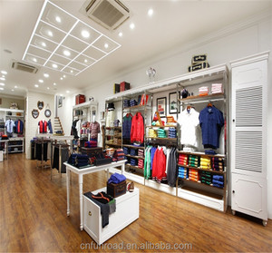 Cloth Shop Rack Design | China Showcase Racks China Showcase Racks Manufacturers And