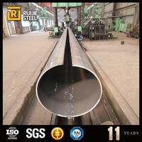 hot rolled carbon steel 1008/1010 tube,black erw tube,gas and oil line pipe with 3pe coating