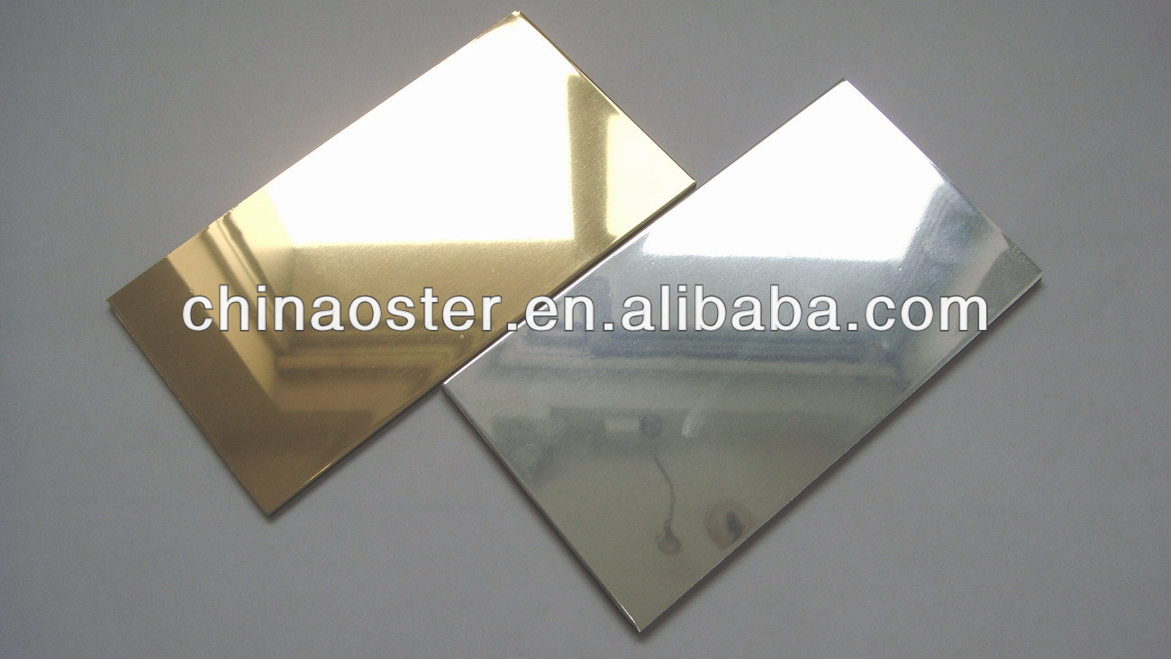 aluminium panneau composite miroir d coratif panneaux muraux panneau en aluminium composite id. Black Bedroom Furniture Sets. Home Design Ideas