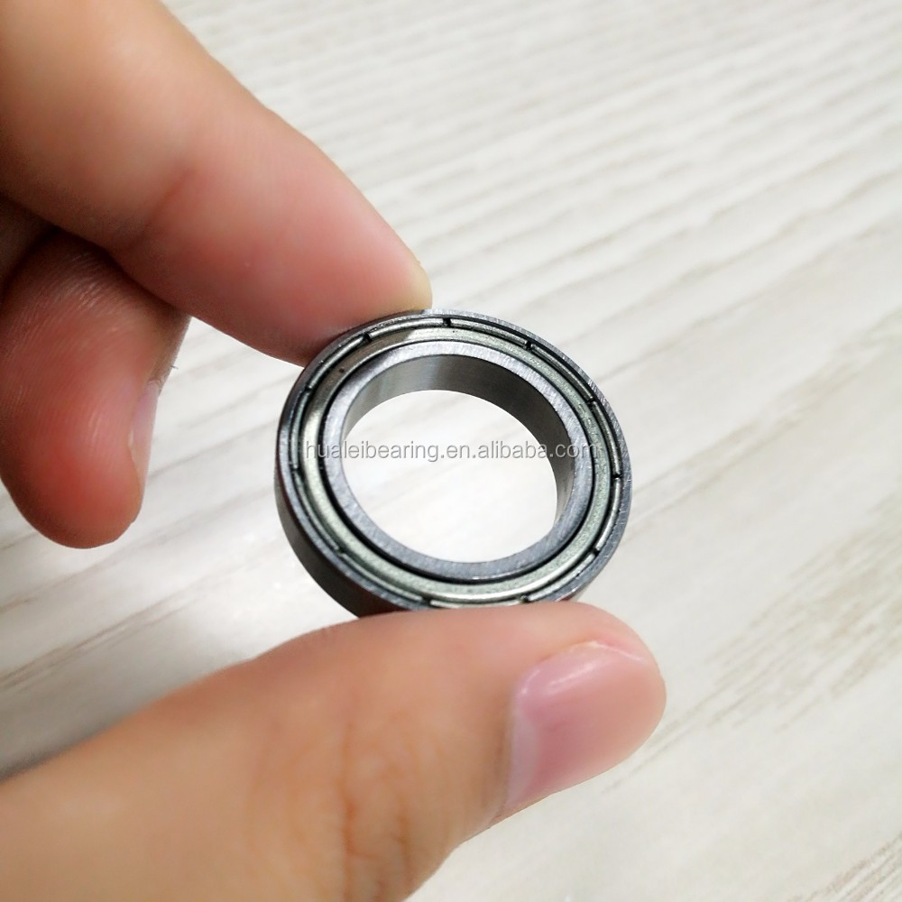 6801zz 6801rs rubber coated ball bearing for carousel 12x21mm 6801