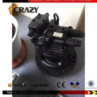 High quality M5X130CHB excavator swing motor M5X130CHB swing device sk200-8 excavator parts