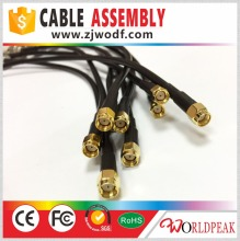 jumper plug N male connector to RP-SMA male connector for LMR200 pigtail cable assembly wire