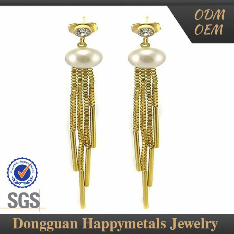 Quality Guaranteed Stainless Steel Customizable Middle East Style Earrings