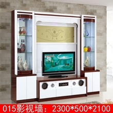 Modern design tv wall storage unit furnture 013# mdf tv unit furniture