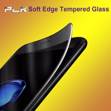 Phone Accessory Screen Protector, Alibaba Express Anti Glare 3D Soft Edge Full Cover Screen Protector For iphone 7 *