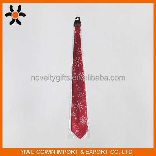 Christmas party digital printed neckties,Christmas pattern printed ties