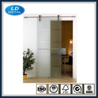 wholesale smooth roller modern interior antique sliding system for glass door