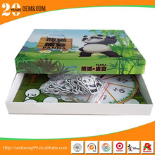 customized board game in paper for kids