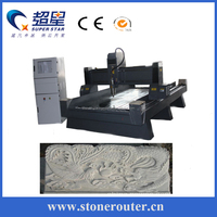 CX-1325 flat & column CNC Wax Engraving Machine