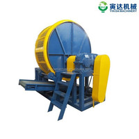 scrap tyre/ truck tires shredder/tire recycling