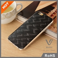 JULES.V 100% real Luxury Carbon fiber mobile phone cases/mobile phone shell/cellphone cases for iPhone 6/6