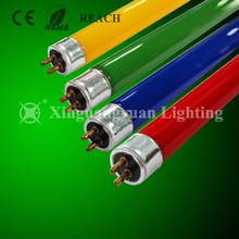 manufacturer Colorful T8 led glass tube red green blue 18w 4ft RGB led tube light