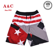 OEM Mens Softshell Material Beach Shorts