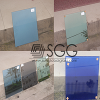 High Quality Low E Glass Used For Awnings/Canopies