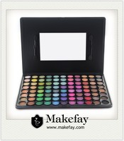 2014 Hot Selling small MOQ Pro 88 Color Matte Eyeshadow Paletts