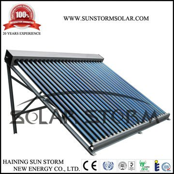 Solar Storm 25 Vertical Evacuated Tubes Solar Collector