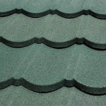 New Roofing Tiles Stone Coated Metal Roofing Building Materials Best For Villas