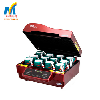 Multi-Functions 3D sublimation transfer machine with good effect